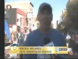 Esta madrugada Maickel Melamed logró el reto del Maratón de Chicago