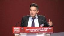 Intervention de Tony Bernard. Convention du parti de gauche sur les élections municipales et européennes.