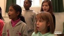 Rythmes éducatifs : atelier chant chorale à l'école Tandou - Paris 19e