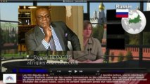 ROGER BONGOS EN DIRECT TV RUSSIE IMMIGRATION, LE DRAME DE  LAMPEDUSA, GUERRES EN AFRIQUE