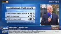 BFM Story: le sondage de l'Ipsos:  79% des français jugent la politique fiscale du gouvernement injuste - 14/10