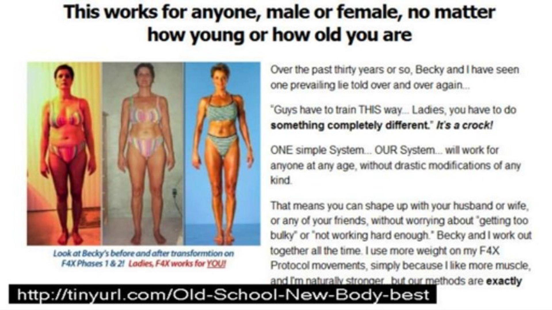 old school new body diet plan