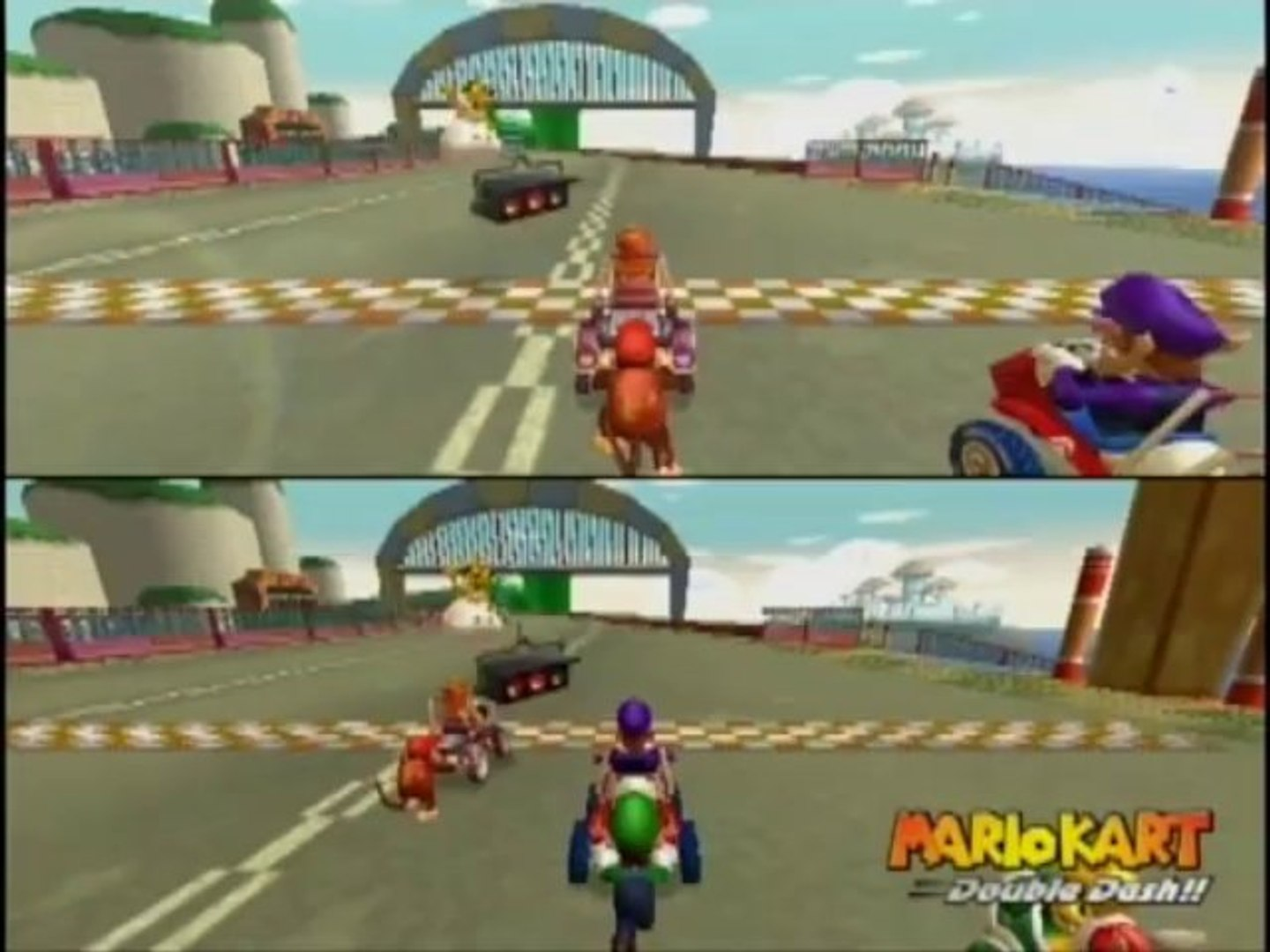 Mario Kart Wii Wii Walkthrough Snes Mario Circuit 3 Youtube