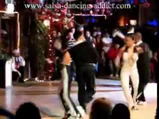 Salsa Dancing Santo Rico Xibicion