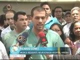 """Médicos del Hospital Vargas denuncian amenazas de grupos armados y """"encapuchados"""""""