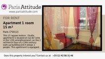 Studio Apartment for rent - Ledru-Rollin, Paris - Ref. 5375