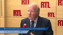 «L'Europe n'est plus l'Eldorado» des immigrés, selon Hortefeux