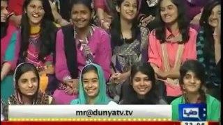Mazaq Raat , 14th October 2013 , Full Comedy Show , Amanullah , Iftikhar Thakur , Dunya News