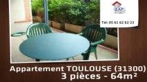 A vendre - appartement - TOULOUSE (31300) - 3 pièces - 64m²