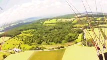 Offers Paragliding Course in Pennsylvania Paragliding