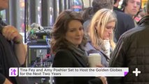 Tina Fey And Amy Poehler Set To Host The Golden Globes For The Next Two Years