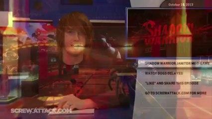 Hard News 10/15/13 - PS Vita, Shadow Warrior, and Watch Dogs - Hard News Clip