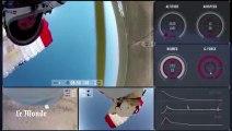 Un an après, nouvelles images du saut de Baumgartner