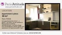 Appartement 1 Chambre à louer - Canal St Martin, Paris - Ref. 6442