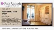 Studio Apartment for rent - Porte Maillot/Palais des Congrès, Paris - Ref. 7560