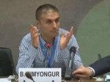 """Bahar Kimyongür au HCR : """"Tous ceux qui sont pour la paix en Syrie sont taxés de complotistes"""""""