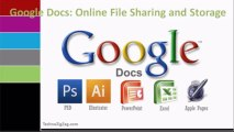 Google Docs Free Online File Sharing and Storage Service