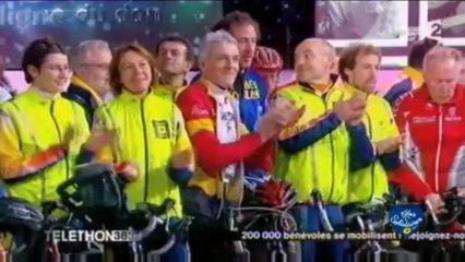 Le défi des Postiers au Téléthon 2011 sur France Télévision / Groupe La Poste - Tous formidables - Tous solidaires