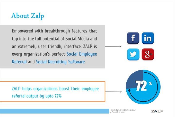 Benefits of Employee Referral Program: Zalp