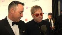 Elton John honors Hillary Rodham Clinton