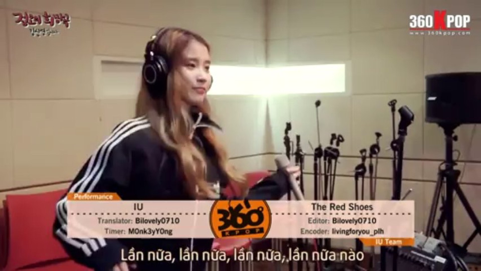 [Vietsub][Live] IU - The Red Shoes @ 131014 MBC Radio Jung Oh's Hope Song [IU Team]