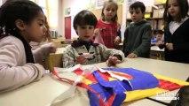 Rythmes éducatifs : Atelier Cerf-volant à l'école Vandrezanne (13ème)
