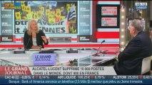 Didier Lombard, ancien pdg de France Telecom, dans Le Grand Journal - 16/10 1/4