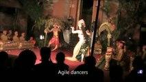 Lovers Dancing Like This - Balinese Oleg Tambulilingan, Bumblebee Dance - Bali Holidays