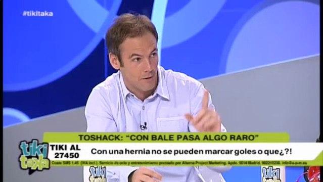 """Toshack: """"Algo raro hay en el tema Bale"""""""