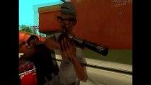 Un voleur de moto se fait tirer dessus : GTA Version