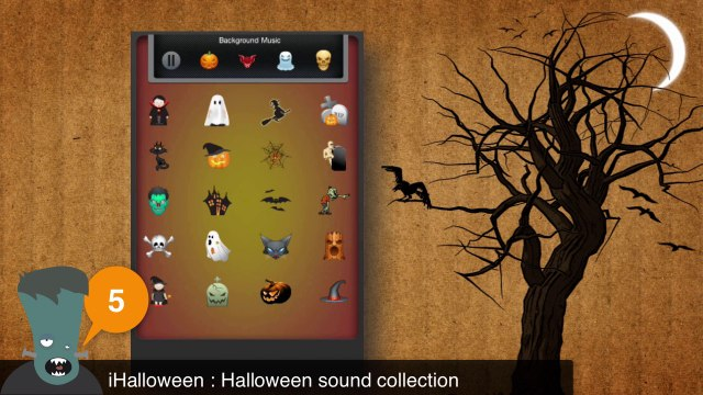 TOP 5 FREE HALLOWEEN APPS - iPhone, iPad, iPod Touch & Android