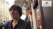 Les lycéens manifestent à Paris contre les expulsions