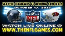 Watch Seattle Seahawks vs Arizona Cardinals Game Online Video Streaming