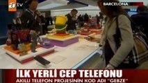 """Turkcell """"Yerli Akıllı Telefon - Gebze"""" @ATV Ana Haber"""