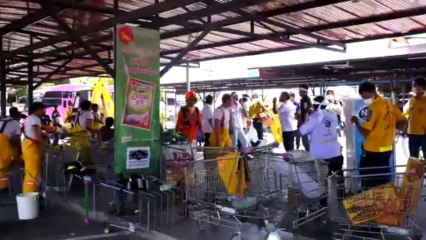 Phuket (Thailande) RUSH COMPLET INCENDIE