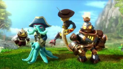 Skylanders Swap Force - New trailer - da Activision