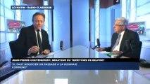 Jean-Pierre Chevènement, invité politique de Guillaume Durand avec LCI