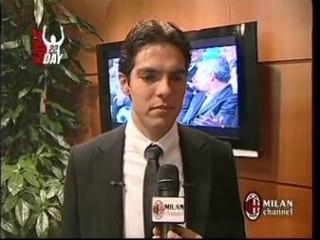 Kaka' greatest goals for AC Milan and Ballon d'or 2007 award
