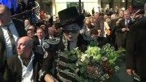Yoko Ono récompensée pour son action en faveur de la paix