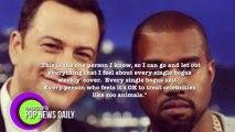 "Kanye West and Jimmy Kimmel Reconcile On ""Jimmy Kimmel Live"""