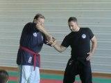 Enchainement de clés dans le style du Small Circle Jujitsu
