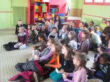 Mouy : Permis piéton à l'école Pierre et Marie Curie