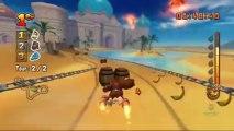 Donkey Kong: Jet Race - Défis de Candy - Niveau 4 - Défi #28 : Attention au choc !