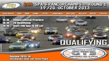 Official Qualifying - Round 1 Int. GT3 Endurance Multileague 2014 - 24h Spa-Francorchamps