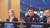 Συνέντευξη Τύπου Μίτσελ 3 (Μπενφίκα - Ολυμπιακός, Champions League 2013-14)