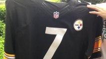 * jerseysforcheap.ru * Pittsburgh Steelers Ben Roethlisberger 7 NFL Jerseys Online