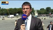 Valls doit avoir besoin de lunettes [14.07.2013]