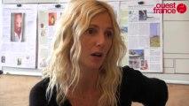 Sandrine Kiberlain pour la sortie de 9 mois ferme d'Albert Dupontel