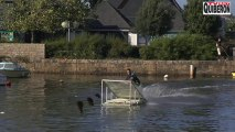 Carnac: Sauts chutes en Wakeboard - Bretagne Télé