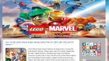 Get Free LEGO Marvel Super Heroes Game Crack - Xbox 360 / PS3 / PC